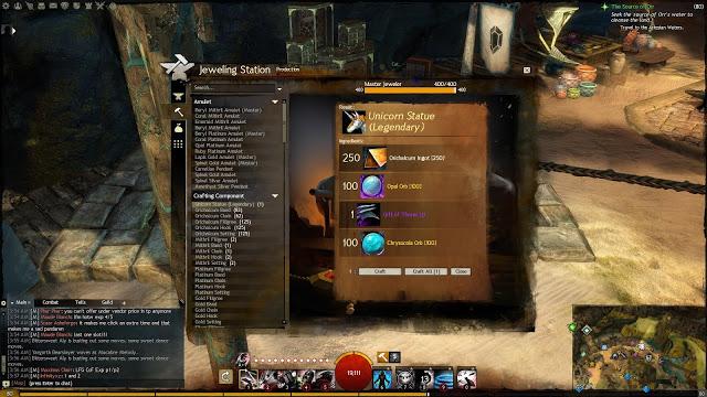 Guild Wars 2 Unicorn Statue