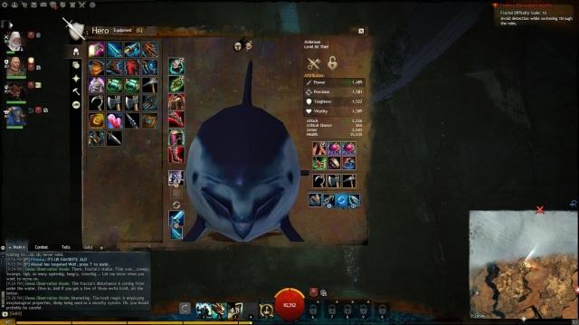 Guild Wars 2 Dolphin Fractal