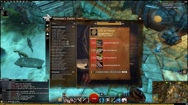 Guild Wars 2 Gift of Wood