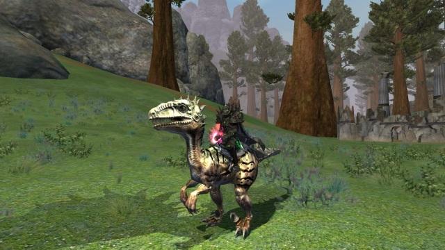 Everquest 2 Scaled Mountain Saliraptor