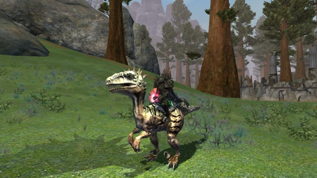 Everquest 2 Scaled Mountain Saliraptor