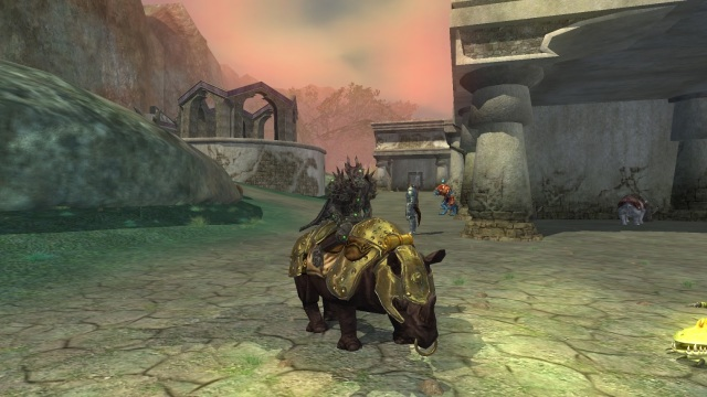 Everquest 2 Rilissian Soldier's Mount