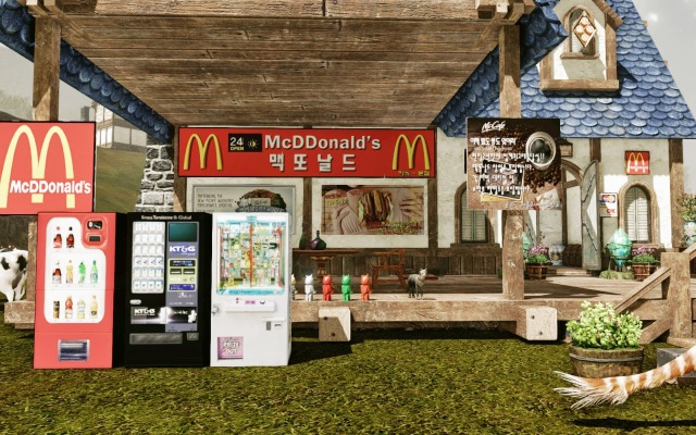 ArcheAge McDDonald's