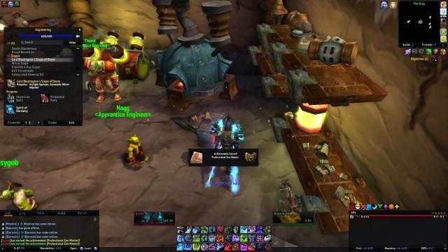 World of Warcraft Engineering