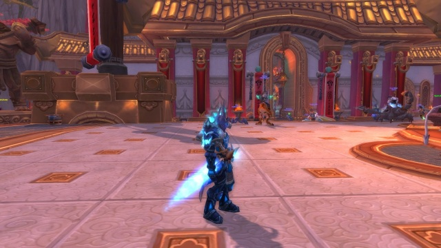 World of Warcraft Spellfire Longsword