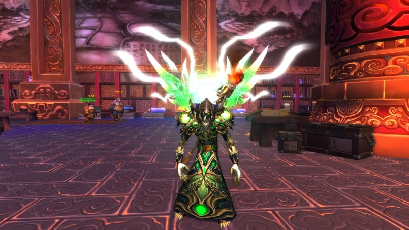 World of Warcraft Warlock Legendary Cloak