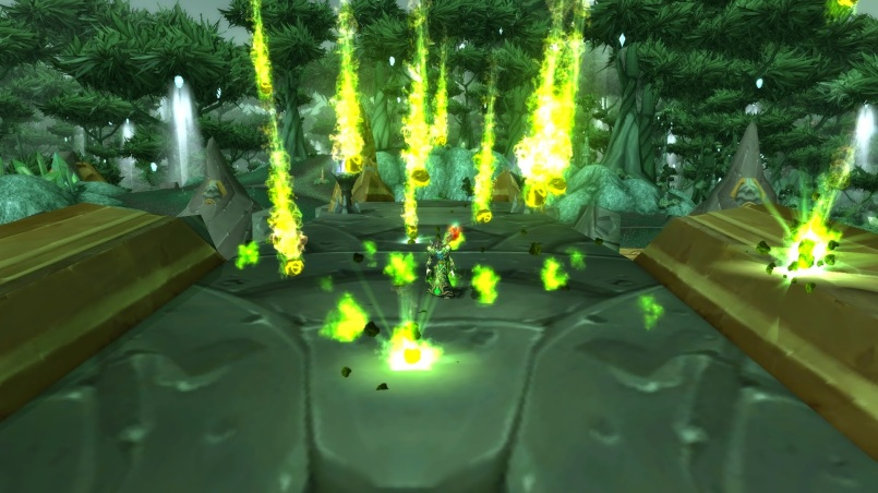 World of Warcraft Warlock Green Fire