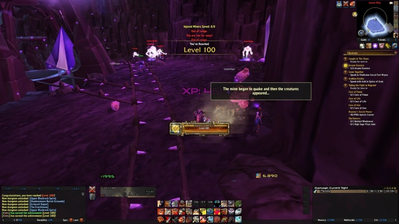 World of Warcraft Fury Warrior