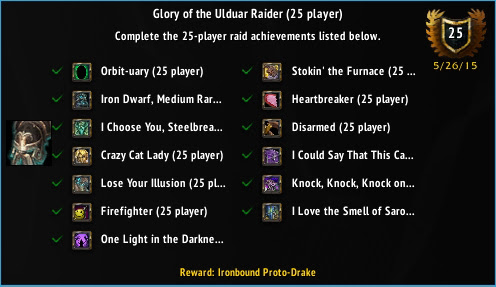 Glory of the Ulduar Raider (25 player)