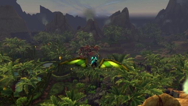 Gliding in Gorgrond