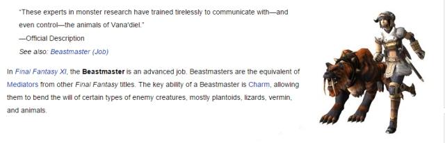 FFXI Beastmaster