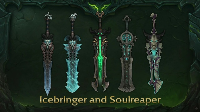 Icebringer and Soulreaper