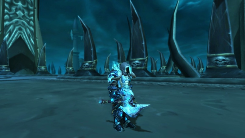 Shadowmourne & Tabard of the Lightbringer
