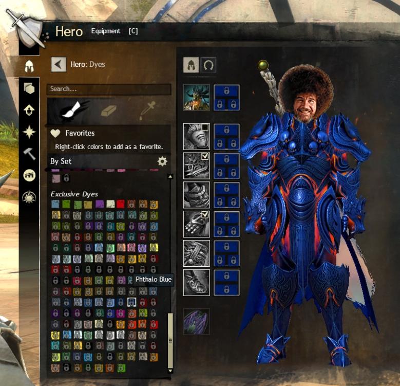 GW2 Dyes