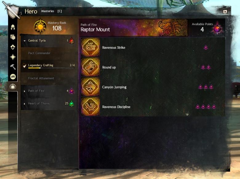 GW2 Masteries