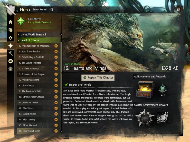 Heart of Thorns Missions